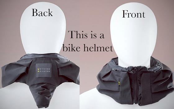 Invisible Bike Helmet: Hovding