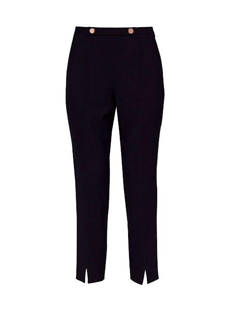 Ted Baker Cerisat Split Hem Skinny Suit Trousers