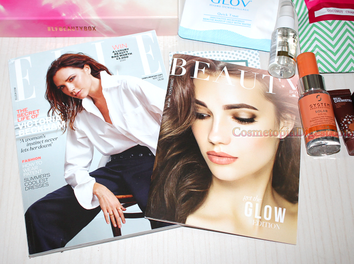 LookFantastic Get The Glow Beauty Box May 2017 Unboxing