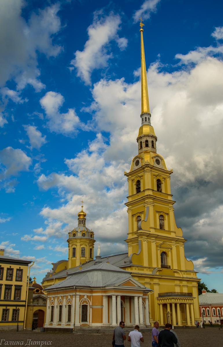 Петропавловский собор в крепости фото