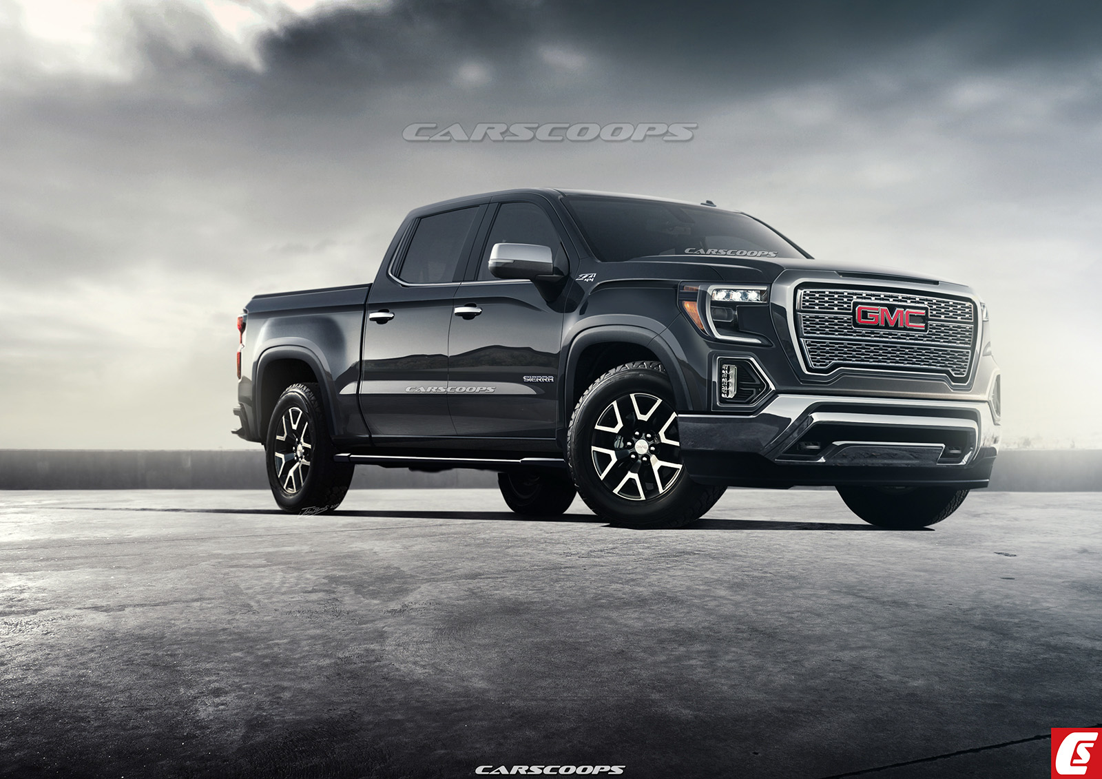 Future Cars: 2019 GMC Sierra 1500 Will Get A Bold New Face ...