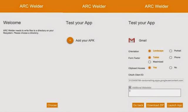 تشغيل تطبيقات الأندرويد على الحواسب بكل أنظمتها مع اضافة ARC Welder