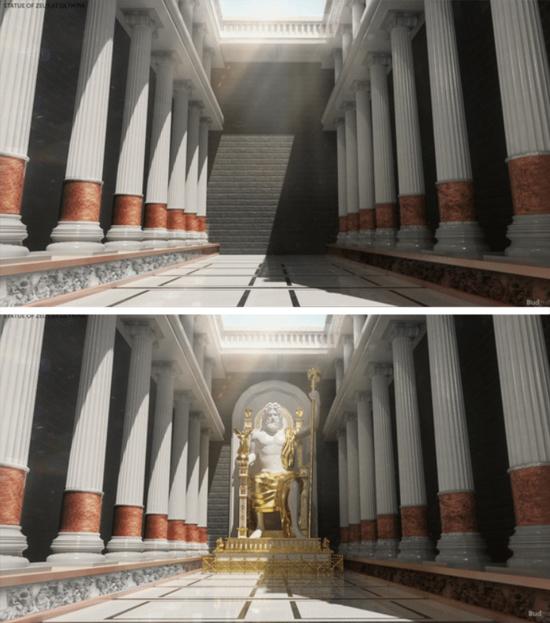 Maravilhas do Mundo na Atualidade - Estatua Zeus