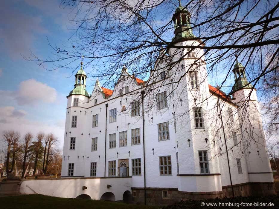 Schloss Ahrensburg, rechte Seitenansicht