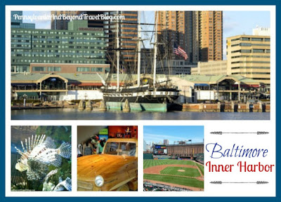 A Day Trip to Inner Harbor in Baltimore Maryland