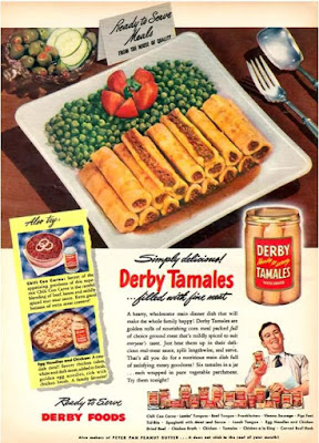 Derby Tamales...filled with fine meat
