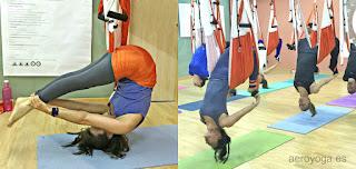 formació professors, ioga, aeri, gronxador, hamaca, trapezi, pilates, aero, air,