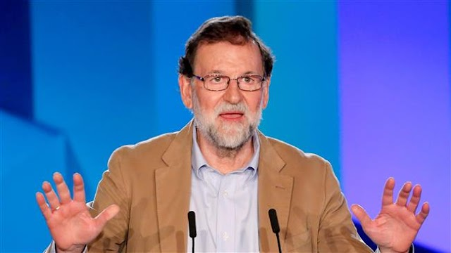 Spanish Prime Minister Mariano Rajoy urges Catalans to shun separatists in elections