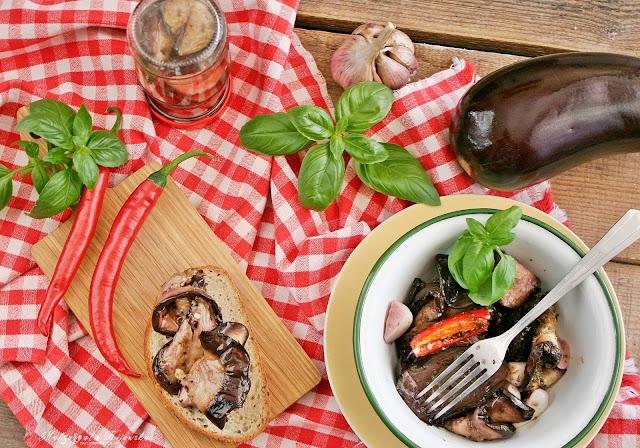 marynowane warzywa, ziołowa marynata, bakłażany w słoiku, przetwory warzywne, daylicooking, Małgorzata Kijowska
