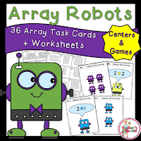 Array Robots are great for learning multiplication