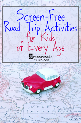 Unplugged car games and toys for everyone in the family, from babies to teenagers.  {posted @ Unremarkable Files}