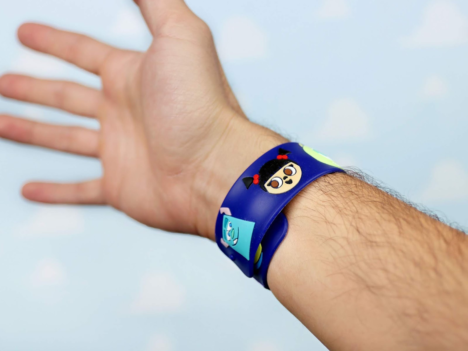 pixar slap bracelet disney world