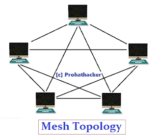 Computer Network Topology - Mesh Topology