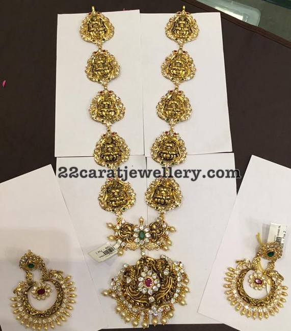 Lakshmi Long Set Chandbalis