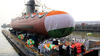 INS Karanj launched by the Indian Navy