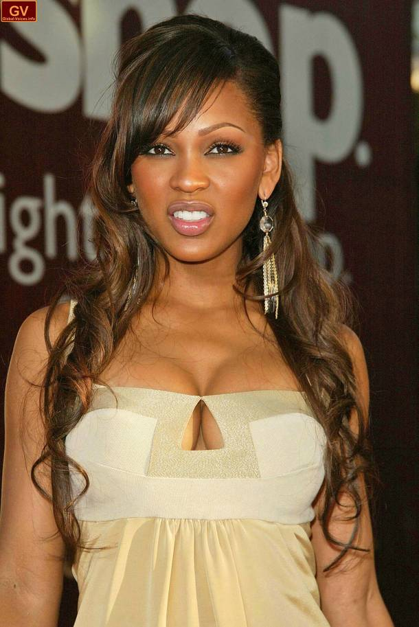 Surprising Meagan Good Hairstyle Trends Hairstyles For Women Draintrainus