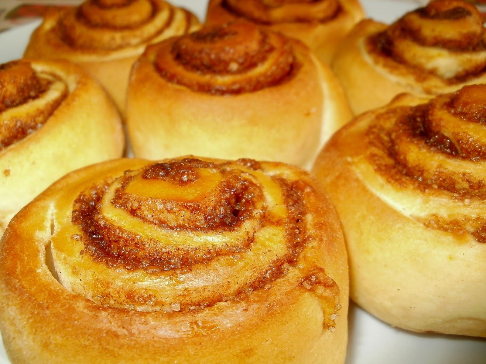 Rollos de canela o cinnamon rolls