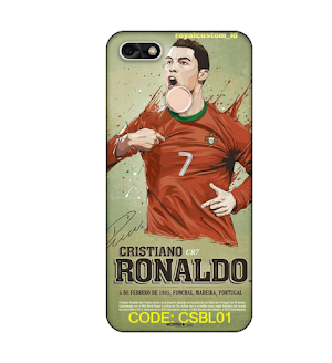 Custom Case Softcase HUAWEI P8 MINI Edisi Bola
