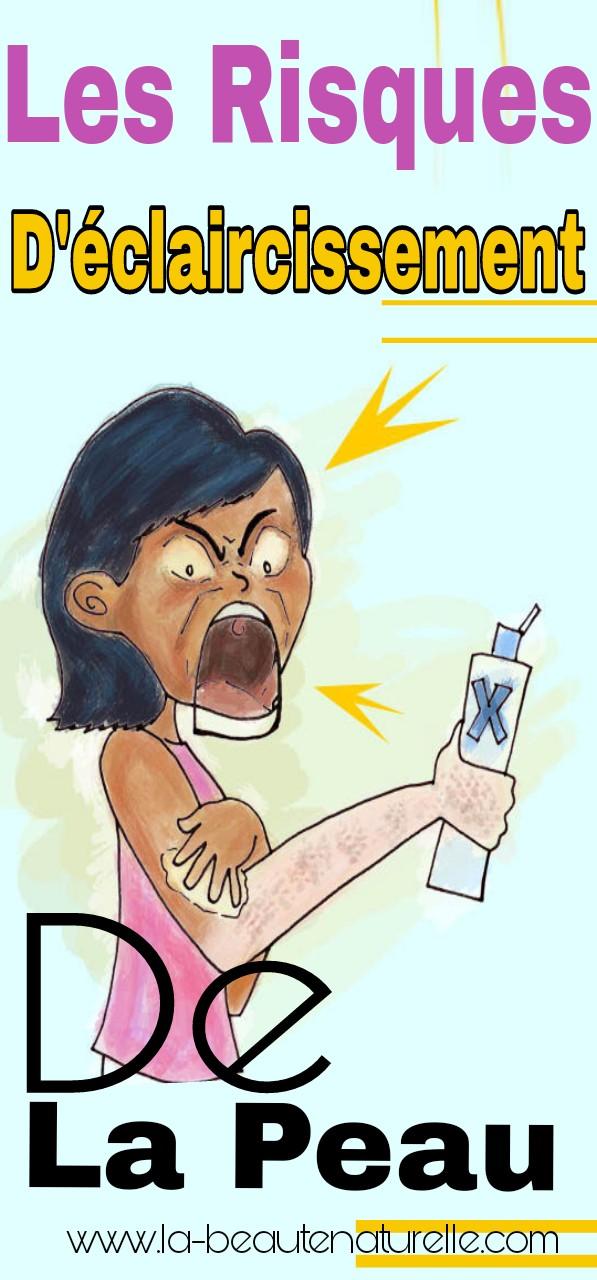 Les risques d'éclaircissement de la peau