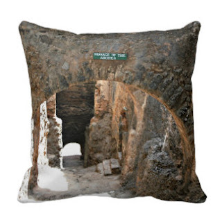 Fort Jesus Mombasa Kenya throw pillow