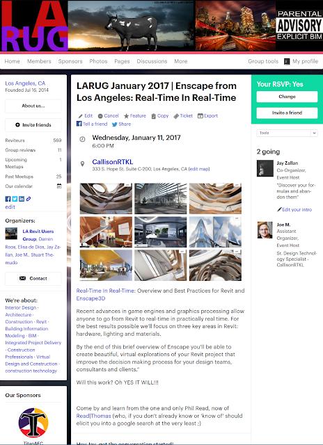 https://www.meetup.com/LA-Revit-User-Group/events/236643538/