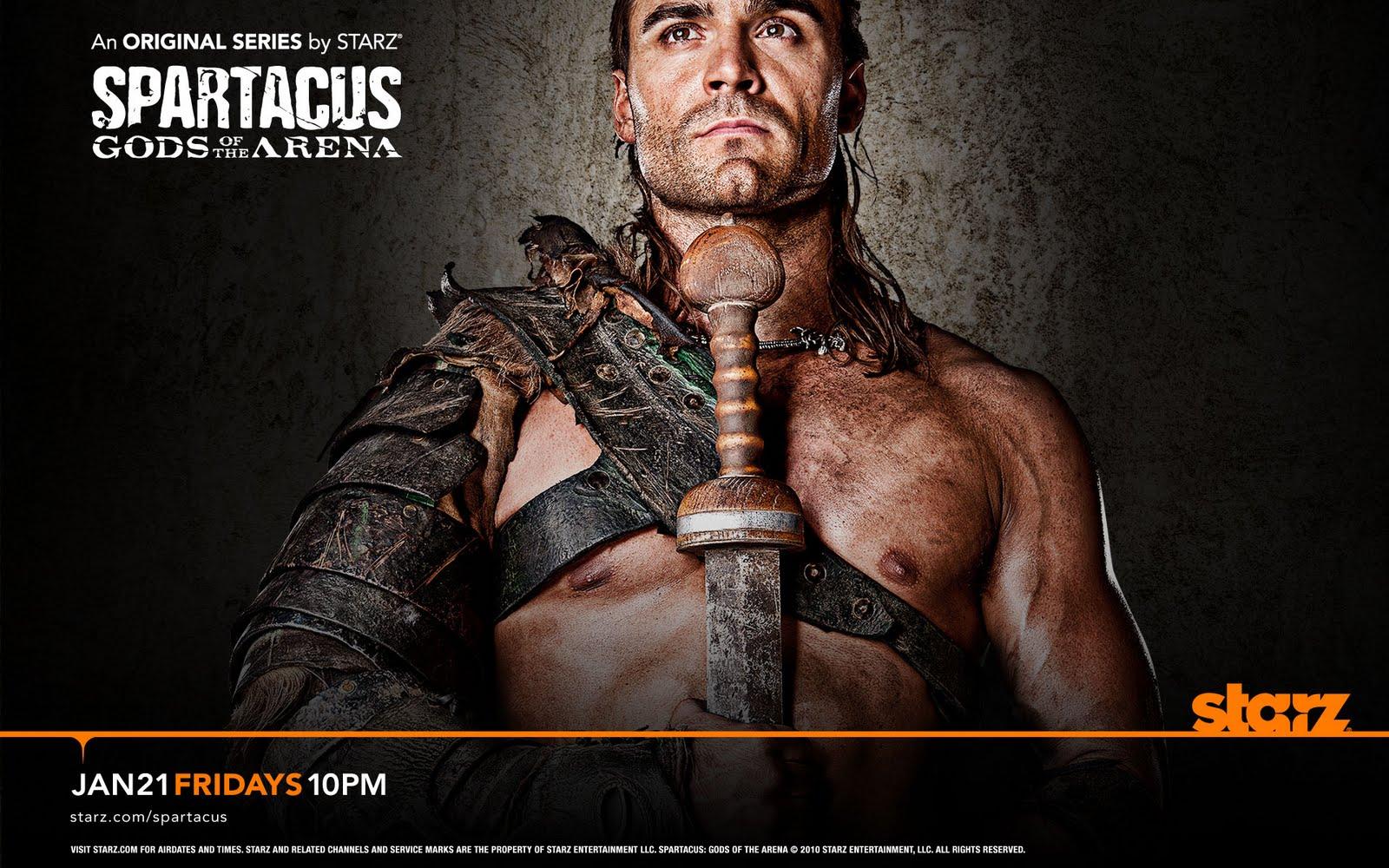 Eh - Séries !: Spartacus Gods of the Arena