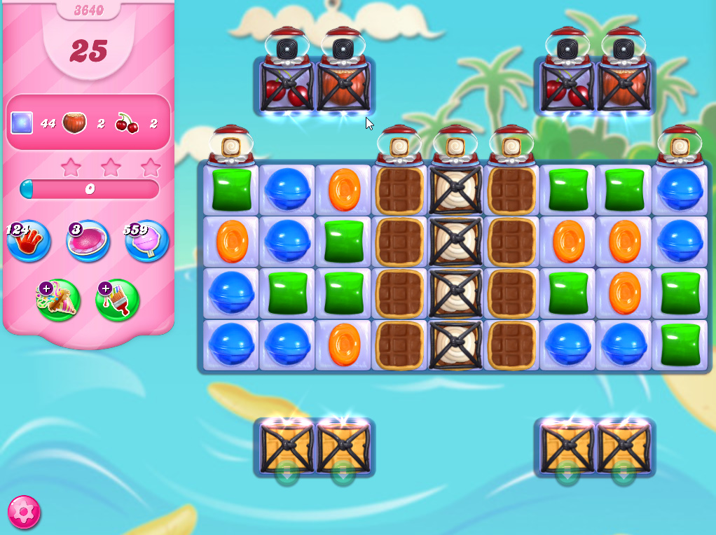 Candy Crush Saga level 3640