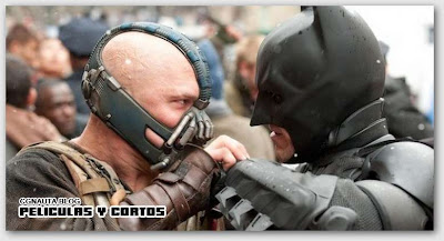 Batman Rises Bane