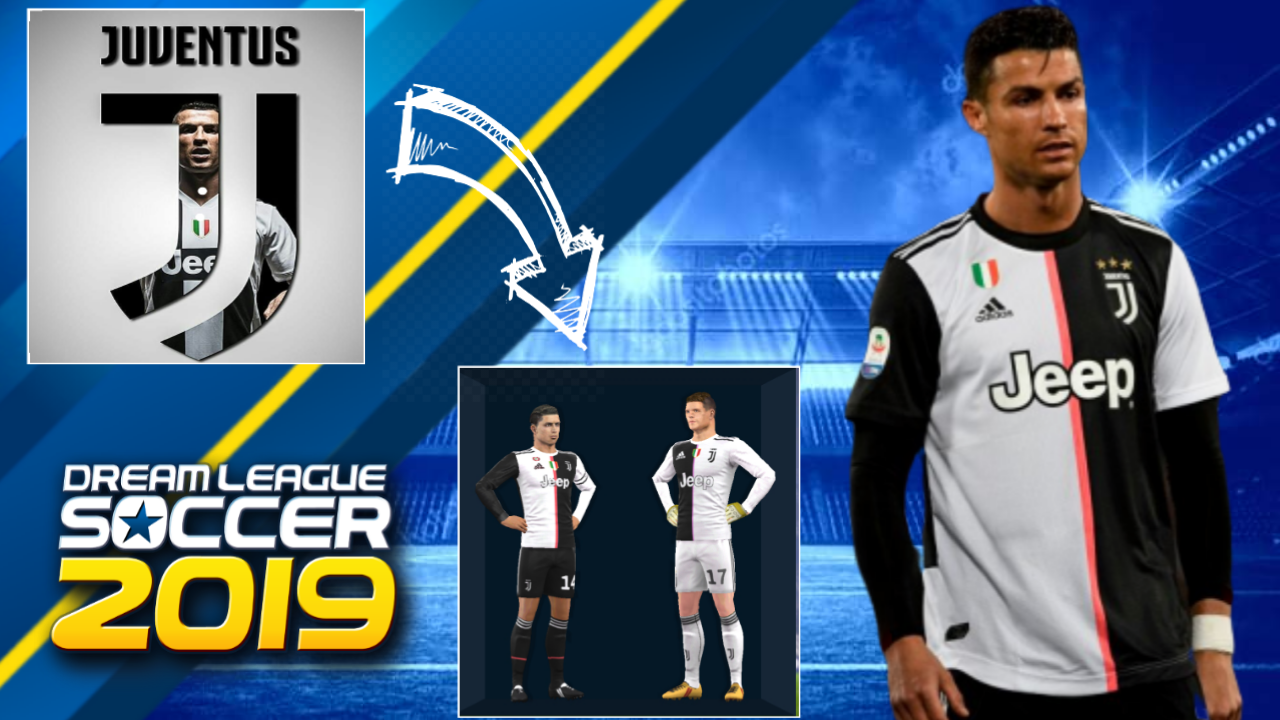 ✨ Kit dream league soccer juventus 2019 | Real Madrid Kits