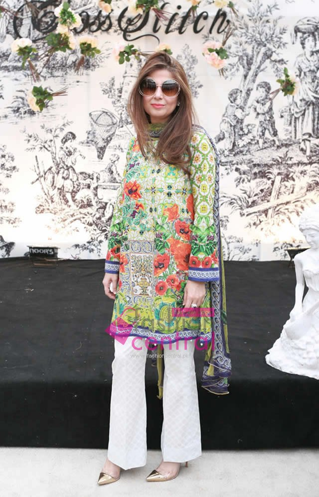 Launching of Cross Stitch Lawn In Lahore