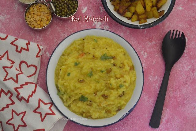 Dal Khichdi Recipe | How to make Khichdi