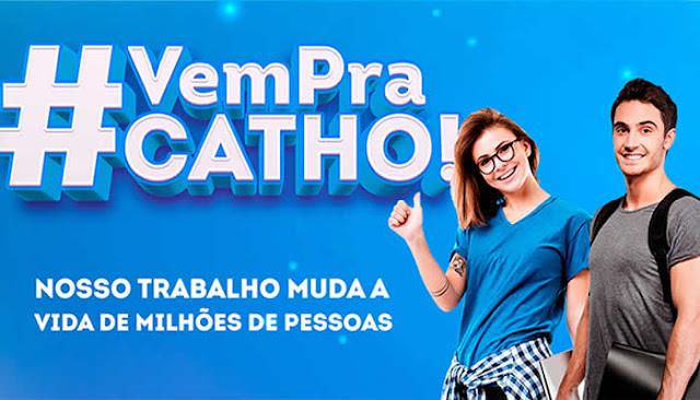 Com vagas para TI, Catho anuncia programa de estágio de R$ 1,8 mil por mês.