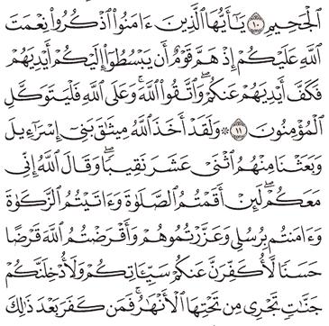 Tafsir Surat Al-Maidah Ayat 11, 12, 13, 14, 15