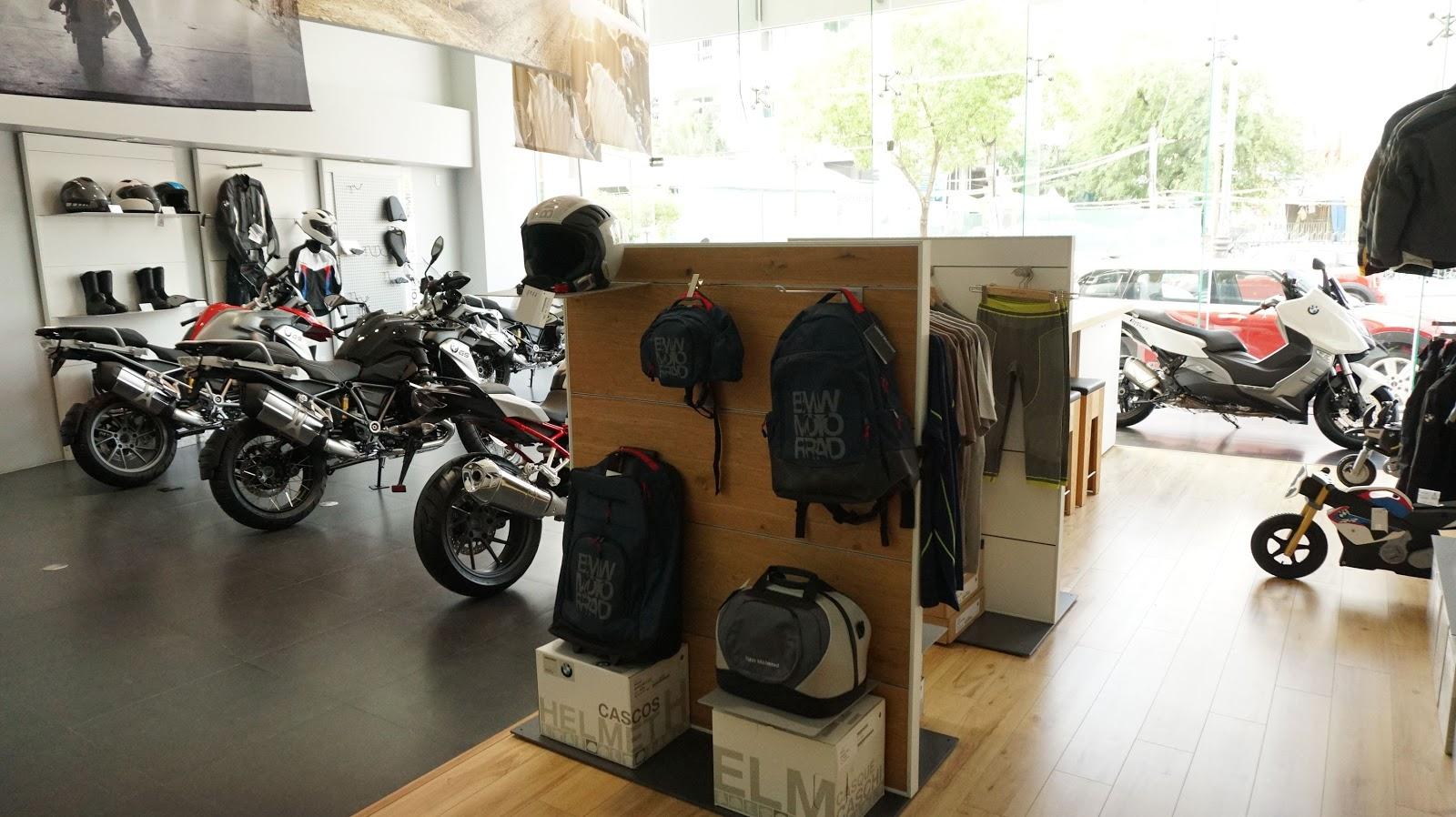 đồ bảo hộ mô tô phân khối lớn của BMW Motorrad