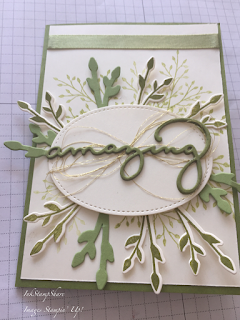 Congratulations card, Inspire Create Stamping Challenge Floral Theme #024