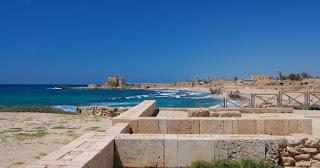 Cesaréia em Israel mostram a imponência do Império Romano