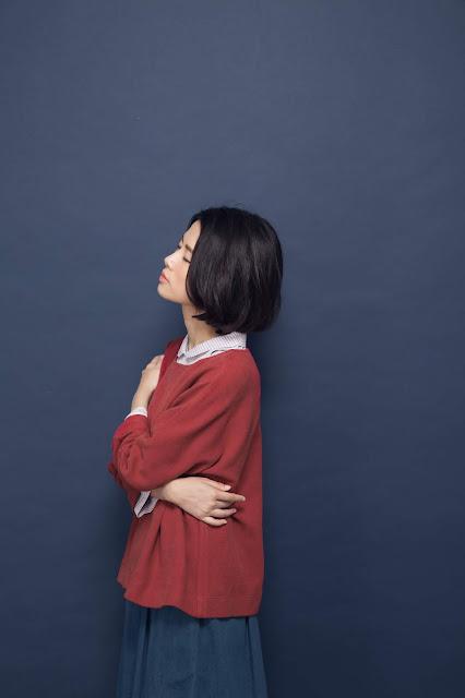 (復刻)小水滴的日常有機棉素色上衣-磚紅
