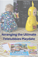 The Tubby Playdate Pack, a Toddler and Laa-Laa