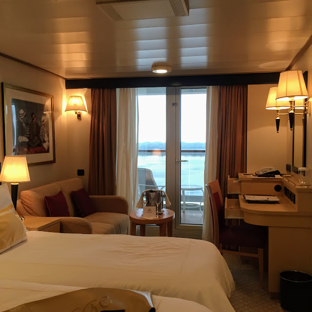 Balcony Room Deck 8 Queen Elizabeth Cruise Ship