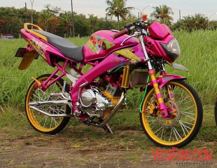 Vixion Jari Jari Warna Pink Untouchable My Journey