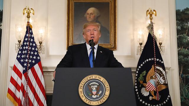 """Trump: """"EE.UU. no certifica el acuerdo nuclear e impondrá nuevas sanciones contra Irán"""""""