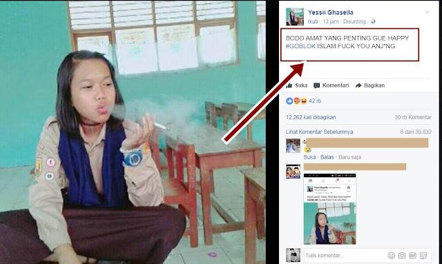 Remaja Putri Yessi Ghasella di Bully Netizen di Medsos, Karena Perbuatan Ini