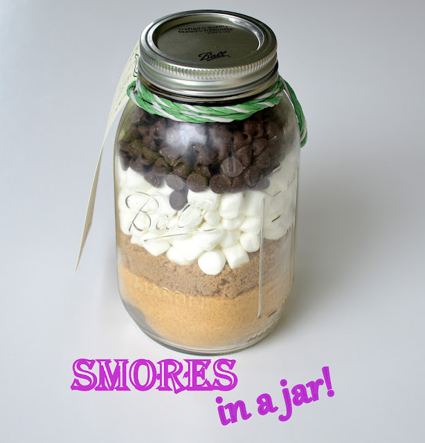 Image result for S'mores in a jar