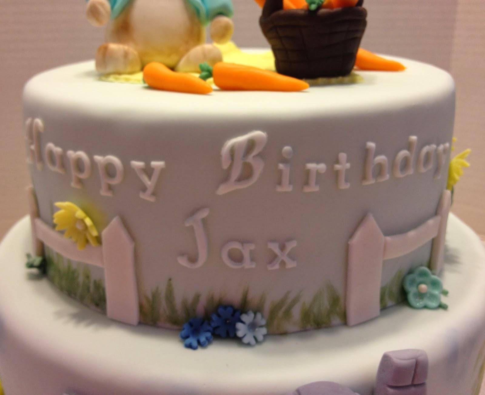 Marymel Cakes Peter Rabbit 1st Birthday