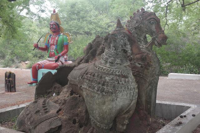 ayyanar temple chevaux
