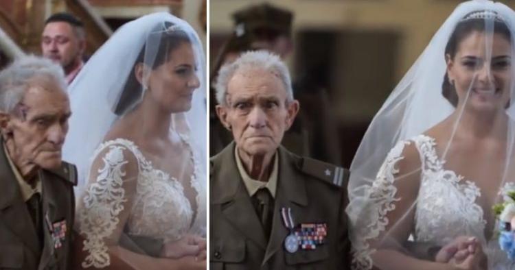 Παππούς 94 ετών συνόδευσε την εγγονή του στο γάμο της και  δυο μέρες μετά γονατισε και πεθανε