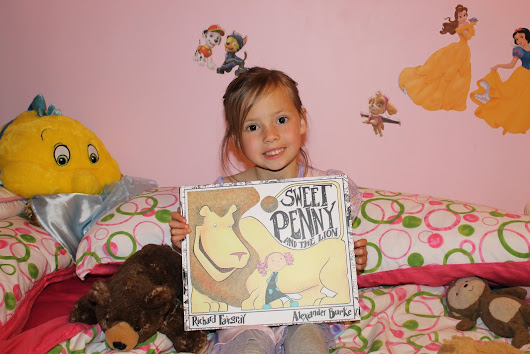 Sweet Penny and the Lion - Book Review