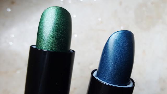 essence lipstick lippenstift swatch review metalshock stargazer venom