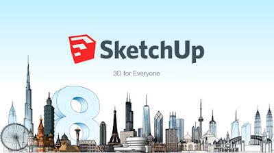 google sketchup, cara memakai sketchup, tutorial google sketchup