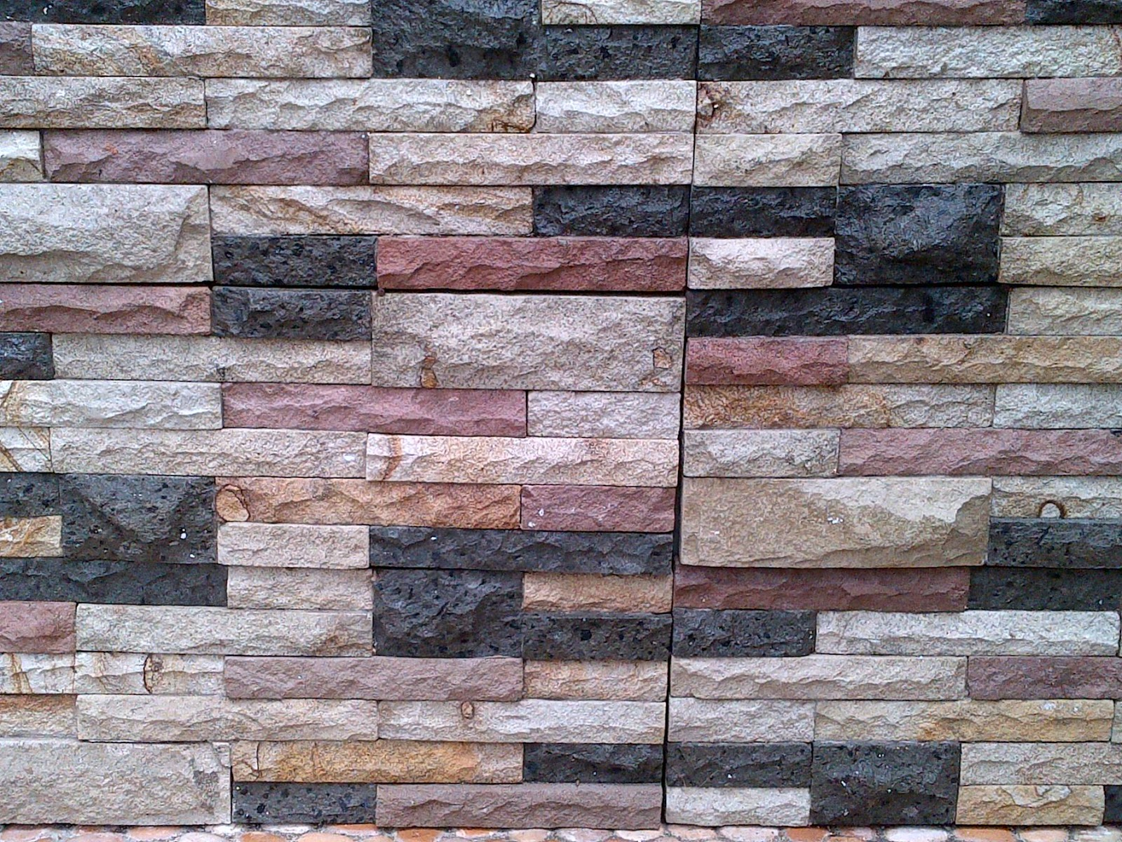 macam macam motif batu alam